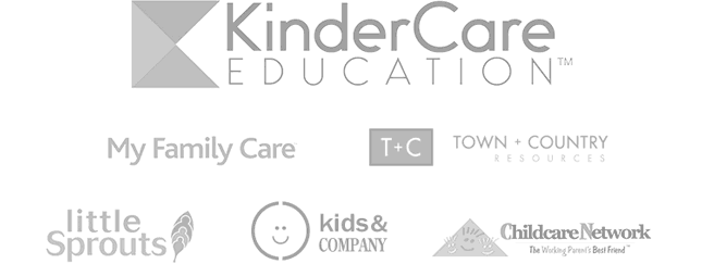 KinderCare Eduction,  My Family Care, little sprouts, nurtury, kids and company, Childcare Network