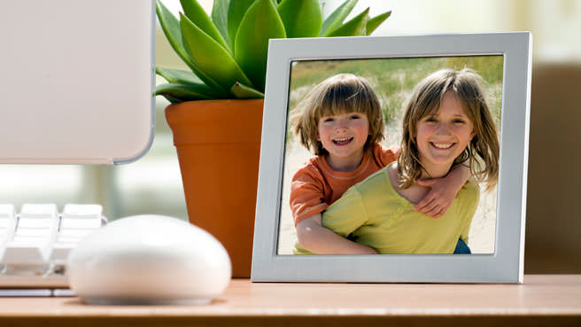 picture frame of kids