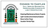 Condos to Castles Personalized Cleaning Service & More!