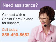 Need assistance? Connect with a Senior Care Advisor for support